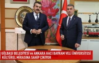 Gölbaşı belediyesi ve Ankara hacı bayram veli...