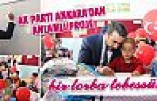 Ak Parti Ankara'dan anlamlı proje