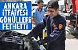Ankara İtfaiyesi'nin başarı hikayaesi