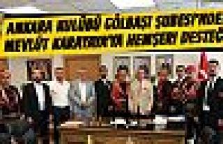 Ankara Kulübü'nden MHP'li Karakaya'ya ziyaret