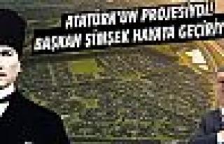 Atatürk'ün İdeal Cumhuriyet Köyü Projesi Gölbaşı'nda...
