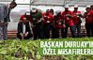 Başkan Duruay'a ZİÇEV'den ziyaret