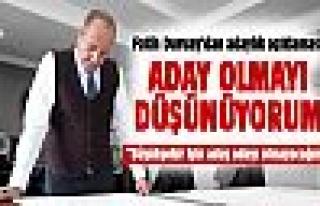 Başkan Duruay'dan adaylık açıklaması