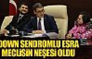 Başkan Şimşek: 'Esra benim kankam'