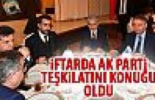 Başkan Tuna Ak Parti il teşkilatı ile iftar buluştu