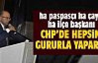 """CHP İlçe Başkanı Bülent Elikesik; """"Biz koltuk..."""