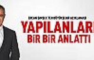 CHP'li Ercan Şimşek Büyükşehir çalışmalarını...