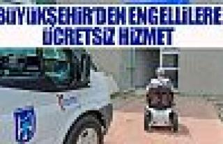 Engelli vatandaşları yolda bırakmayan hizmet!
