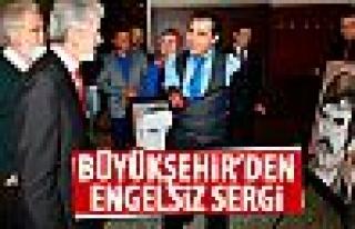Engelli Yusuf Akgün, belediyeden destek