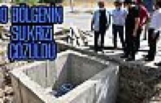 Gökçehöyük ve Hacımuratlı'nın su krizi çözüldü