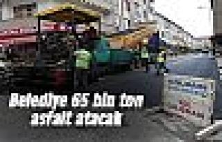 Gölbaşı Belediyesi 65 bin ton asfalt atacak