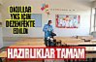 Gölbaşı Belediyesi okulları sınava hazırladı
