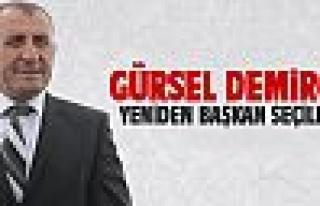Gürsel Demirci yeniden başkan seçildi