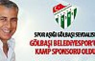 Hürriyet Ergezer Gölbaşı Belediyespor'a kamp sponsoru...