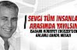 İşadamı Hürriyet Ergezer'den Regaip Kandili mesajı