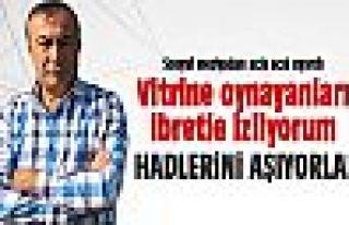 Mehmet Atak: Hadlerini aşıyorlar