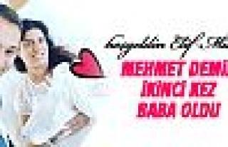 Mehmet Demir ikinci kez baba oldu