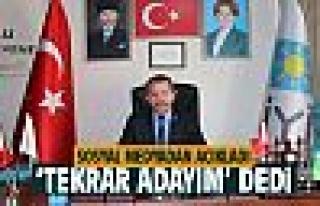 Mehmet Öztürk'ten adaylık açıklaması