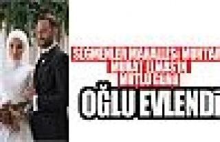 Murat Elmas'ın oğlu evlendi