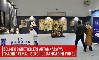 BELMEK öğrencileri ArtAnkara'ya damga vurdu