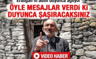 Erdoğan'ın adını duyunca ağlıyor - Video