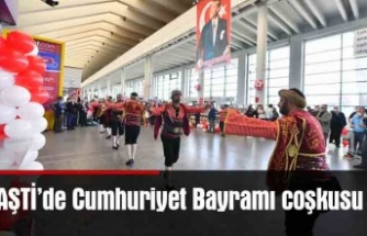 AŞTİ'de Cumhuriyet Bayramı coşkusu