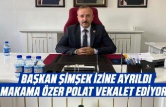 Başkanlık vekaleti Özer Polat'ta