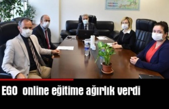 EGO online eğitime ağırlık verdi