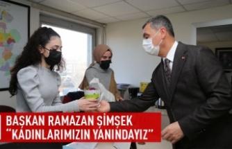 Gölbaşı Belediye Başkanı Ramazan Şimşek Kadın Çalışanlarla Bir Arada