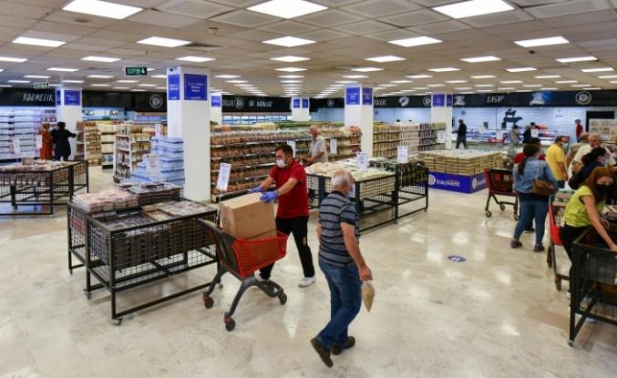 Başkent Market'in ikinci adresi Mamak Şafaktepe'de açıldı
