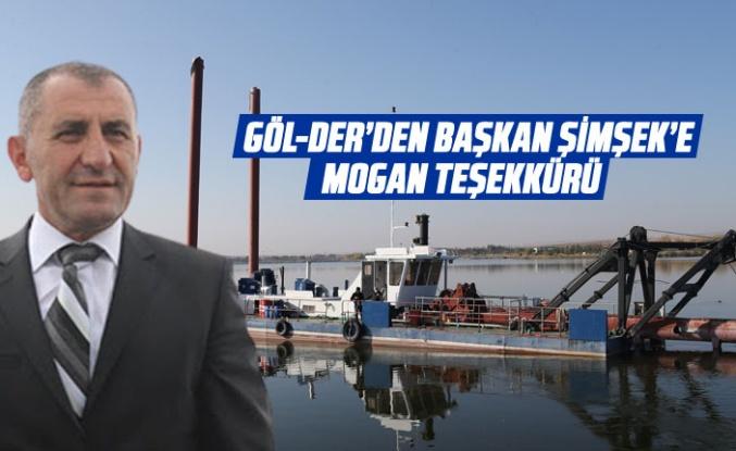 GÖL-DER'den Başkan Şimşek'e Mogan teşekkürü