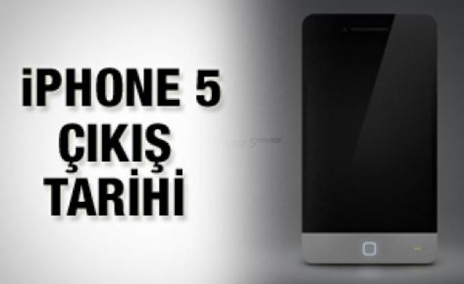iPhone 5'in çıkış tarihi