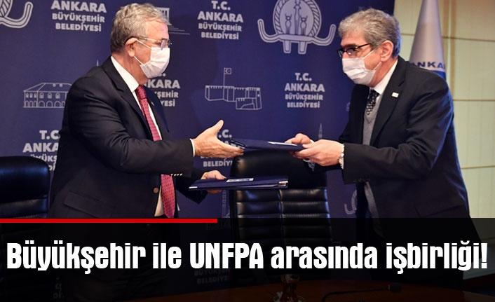 Büyükşehir ile UNFPA arasında işbirliği!
