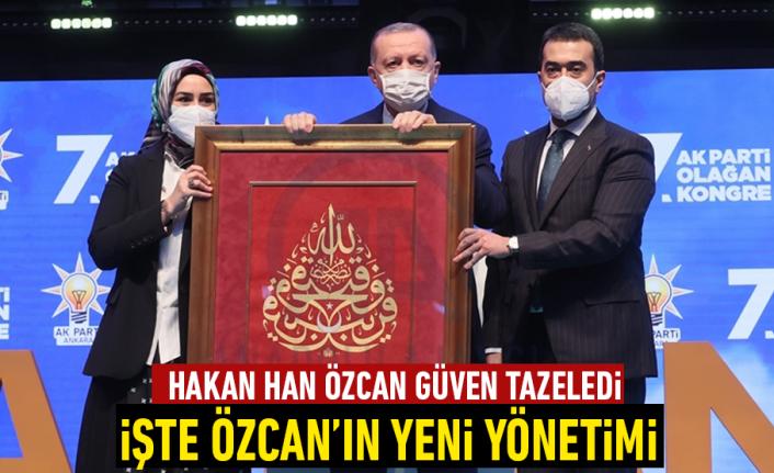 Hakan Han Özcan güven tazeledi