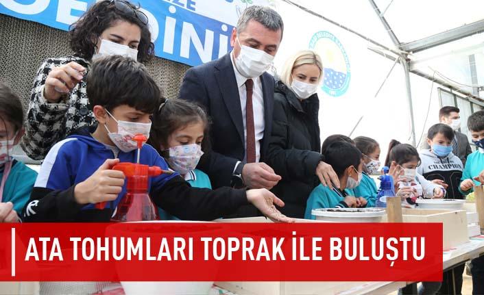 Başkan Ramazan Şimşek ile Minik Eller Toprağa Can Verdi