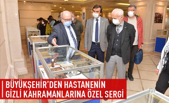 Büyükşehir'den hastanenin gizli kahramanlarına özel sergi