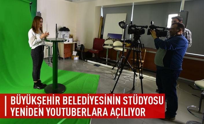 Büyükşehir stüdyolarının kapıları youtuberlara açılıyor