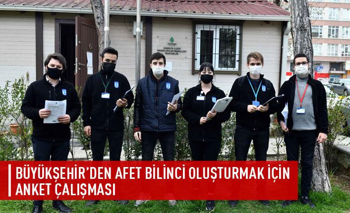 Büyükşehir'den afet bilinci oluşturma çalışması