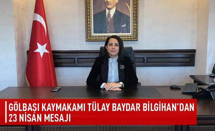 Tülay Baydar Bilgihan'dan 23 Nisan mesajı