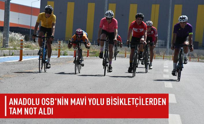Anadolu OSB bisiklet yolu tam not aldı
