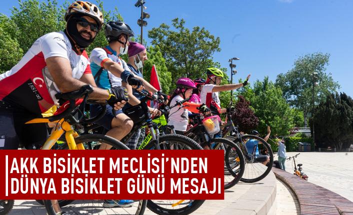 AKK Bisiklet Meclisi'nden Dünya Bbisiklet Günü mesajı