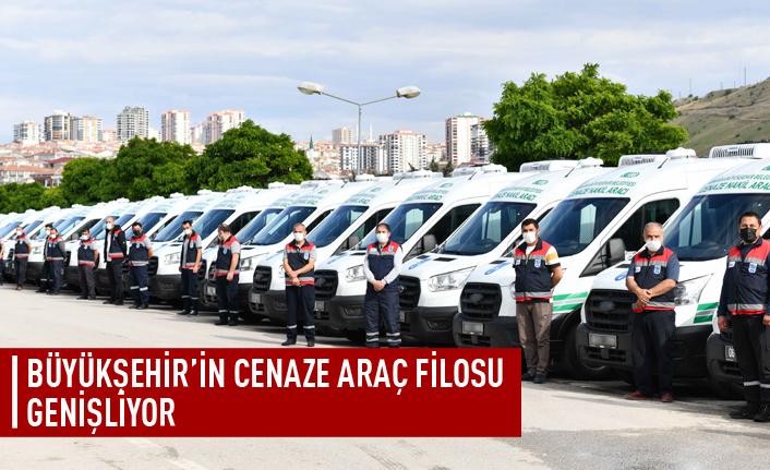 Büyükşehir cenaze nakil araç filosu genişletiyor!