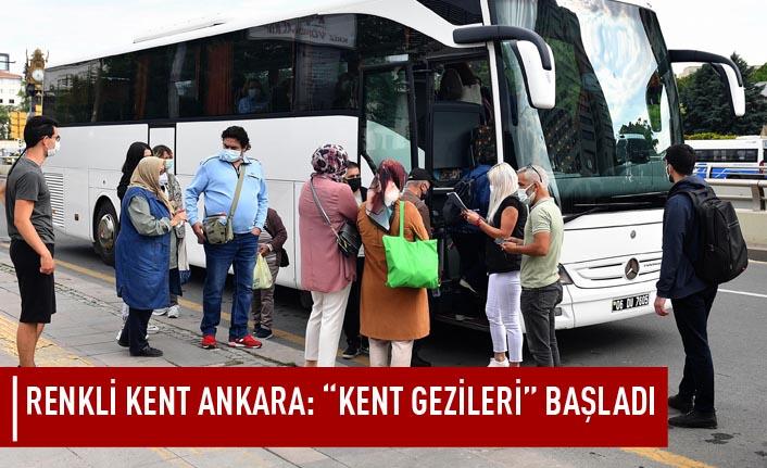 """Renkli kent Ankara: """"Kent gezileri"""" başladı"""