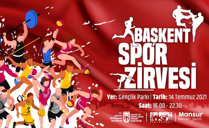Büyükşehir'den spora tam destek: Başkent spor zirvesi'ne ev sahipliği yapacak