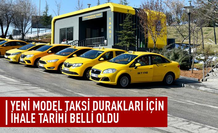 Yeni model taksi durakları için ihale tarihi belli oldu