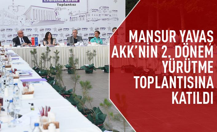 2. Dönem Ankara Kent Konseyi Yürütme Kurulu toplantısı gerçekleştirildi