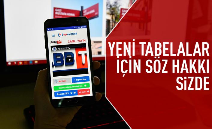Ankara'nın yeni tabelaları için söz halkta