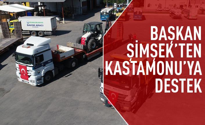 Gölbaşı Belediyesi Yardım Tırları, Kastamonu İçin Yola Çıktı