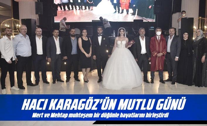 Hacı Karagöz oğlunu evlendirdi