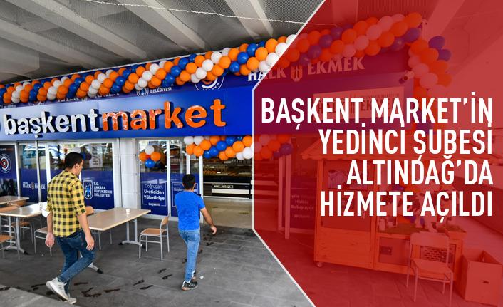 Başkent Marketin yedinci şubesi açıldı